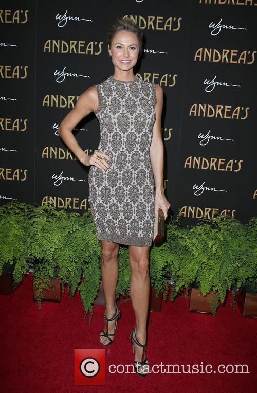 Stacy Keibler, Andrea's Restaurant Opening