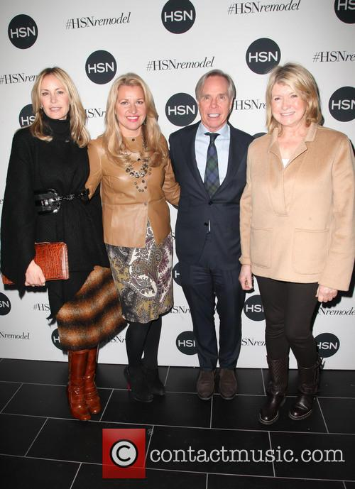 Andrea Canning, Tommy Hilfiger and Martha Stewart 5
