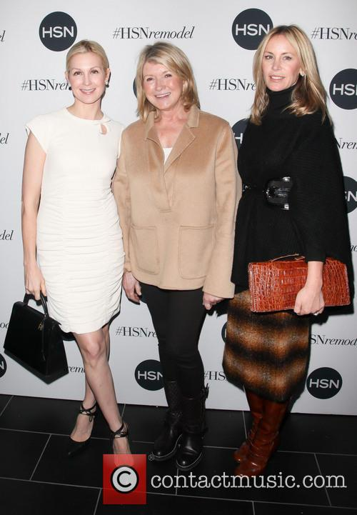 Kelly Rutherford, Martha Stewart and Ramy Sharp 3