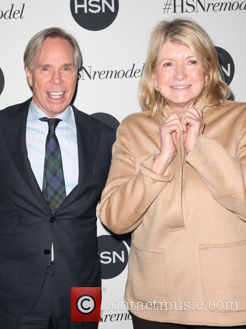 Tommy Hilfiger and Martha Stewart 2