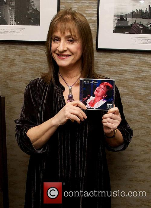 Patti LuPone promotes her latest album New York...