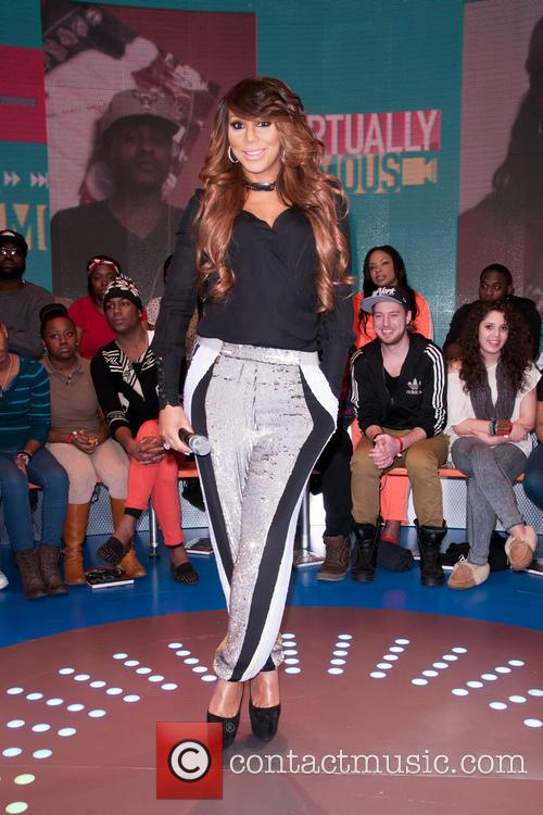 Celebrities attend BET's 106 and Park Taping