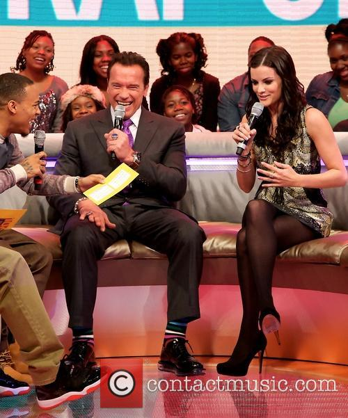 Bow Wow, Arnold Schwarzenegger and Jaimie Alexander 1