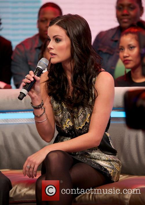 jaimie alexander celebrities attend bet's 106 and park 3458290