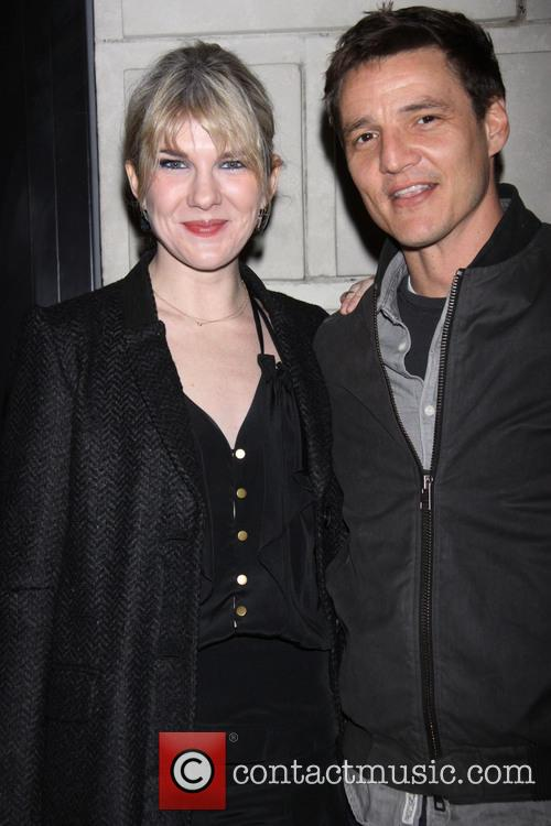 Lily Rabe and Pedro Pascal 2