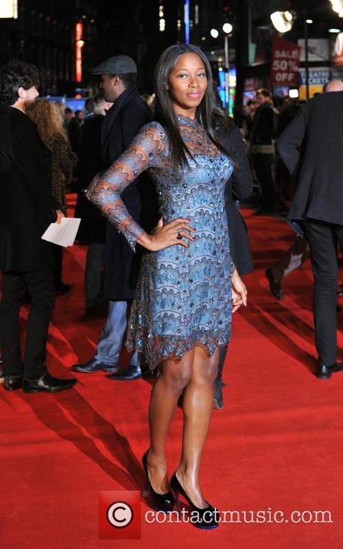 jamelia 'flight' uk film premiere 3456578