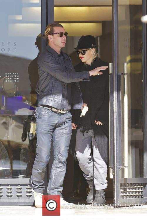 Gwen Stefan and Gavin Rossdale 7