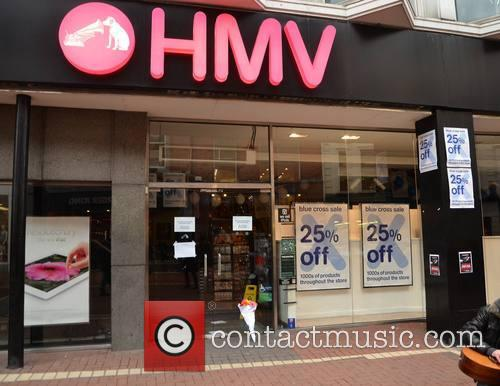 HMV Dublin Stores Close