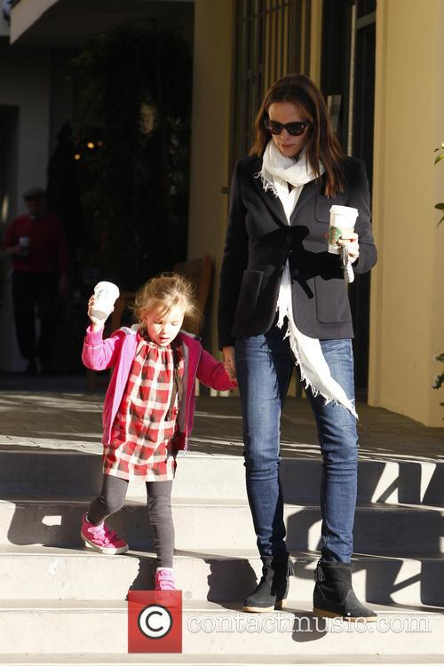 Jennifer Garner and Seraphina Affleck 5