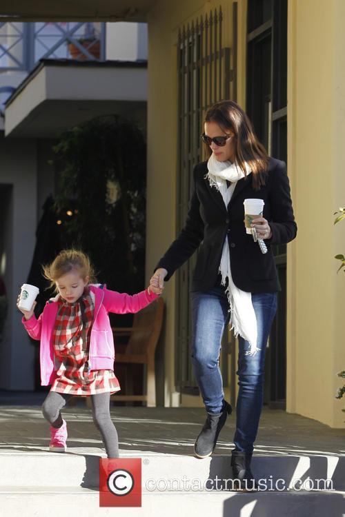 Jennifer Garner and Seraphina Affleck 8