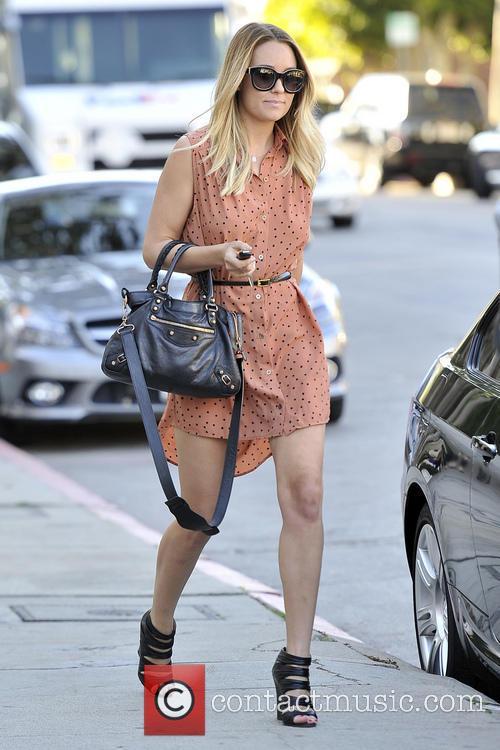 Lauren Conrad seen leaving Kate Sommerville