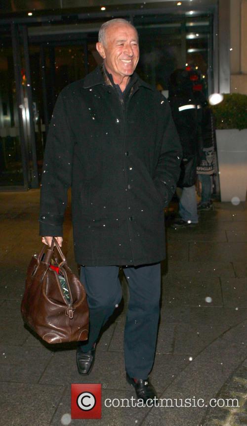 Len Goodman and Bruno Tonioli leave their hotel