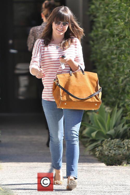 Sophia Bush leaving the Andy Lecompte hair salon