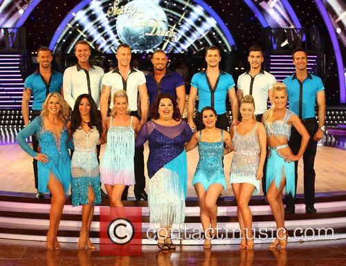 Artem Cingvintsev, Phil Tufnell, James Jordan, Robin Windsor, Pasha Kovalev, Louis Smith, Michael Vaughan, Fern Britton, Karen Hauer, Denise Van Outen, Lisa Riley, Dani Harmer, Ola Jordan and Natalie Lowe 2