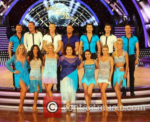 Artem Cingvintsev, Phil Tufnell, James Jordan, Robin Windsor, Pasha Kovalev, Louis Smith, Michael Vaughan, Fern Britton, Karen Hauer, Denise Van Outen, Lisa Riley, Dani Harmer, Ola Jordan and Natalie Lowe 7