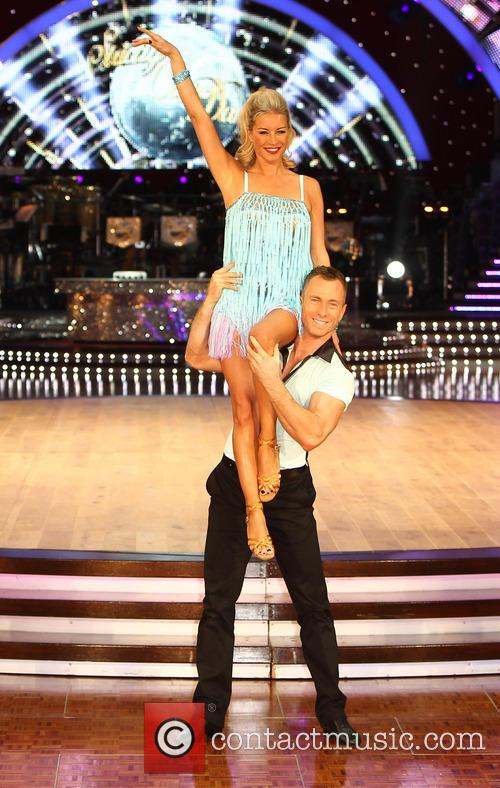Denise Van Outen and James Jordan 9
