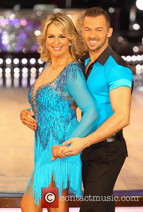 Fern Britton and Artem Cingvintsev 2