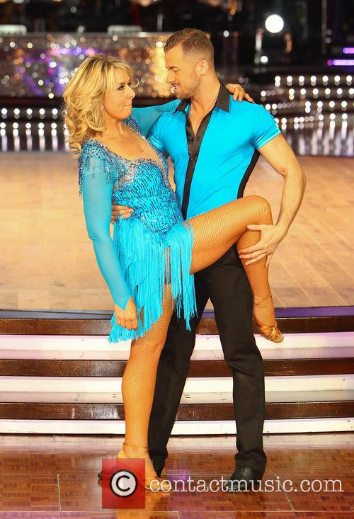 Fern Britton and Artem Cingvintsev 3