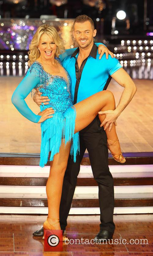 Fern Britton and Artem Cingvintsev 1