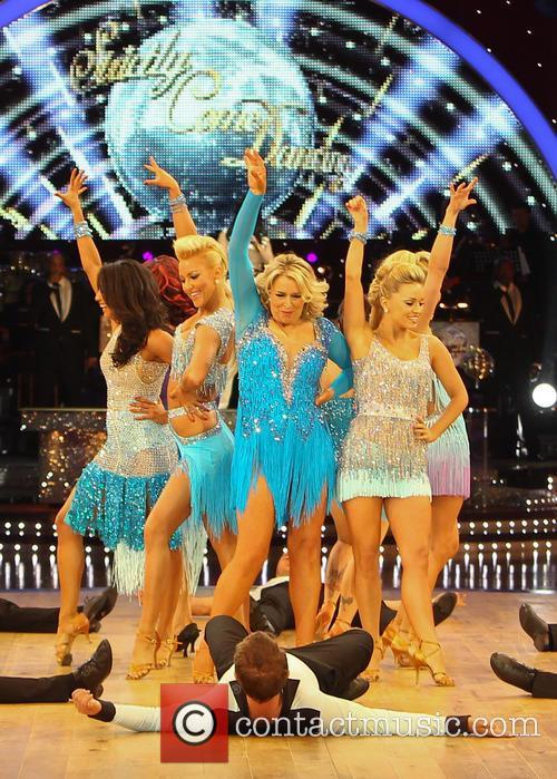 Fern Britton, Karen Hauer, Ola Jordan, Lisa Riley, Denise Van Outen, Dani Harmer, Natalie Lowe, Strictly Come Dancing Tour