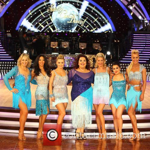 Fern Britton, Karen Hauer, Ola Jordan, Lisa Riley, Denise Van Outen, Dani Harmer and Natalie Lowe