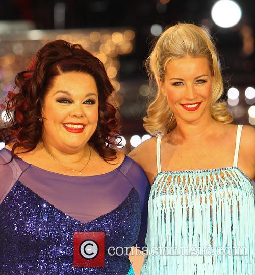 Lisa Riley and Denise Van Outen 7