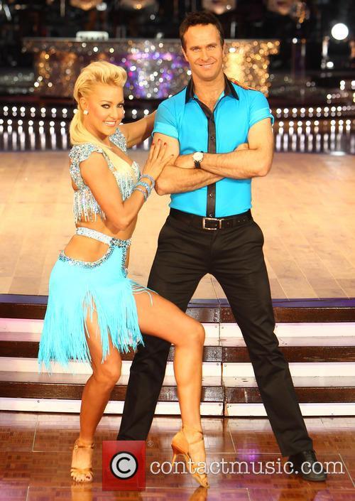 Natalie Lowe and Michael Vaughan 6