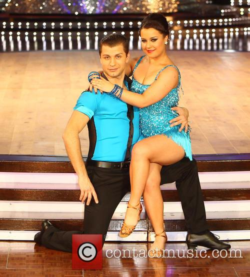 Pasha Kovalev and Dani Harmer