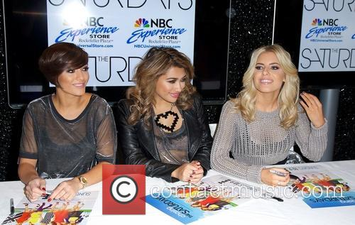 Frankie Sandford, Vanessa White, Mollie King