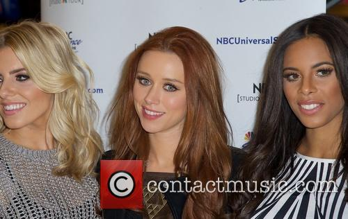 Mollie King, Una Healy and Rochelle Humes 2