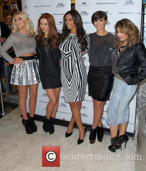 Mollie King, Una Healy, Rochelle Humes, Frankie Sandford and Vanessa White 3