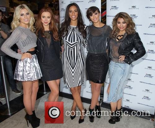 Mollie King, Una Healy, Rochelle Humes, Frankie Sandford and Vanessa White 4