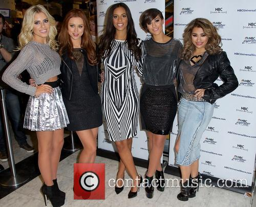 Mollie King, Una Healy, Rochelle Humes, Frankie Sandford and Vanessa White 5