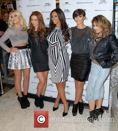 Mollie King, Una Healy, Rochelle Humes, Frankie Sandford and Vanessa White 7