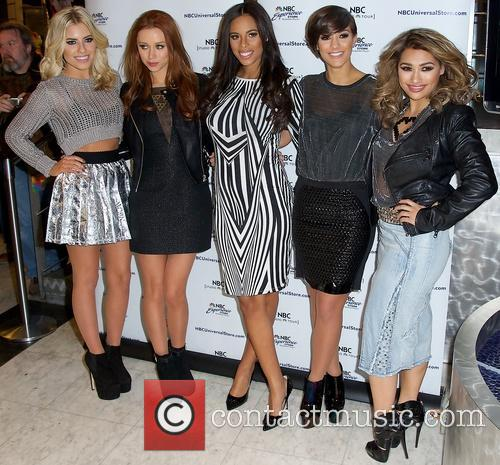 Mollie King, Una Healy, Rochelle Humes, Frankie Sandford and Vanessa White 8