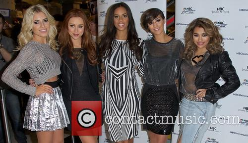 Mollie King, Una Healy, Rochelle Humes, Frankie Sandford and Vanessa White 10