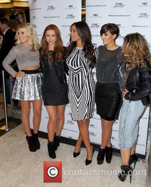 Mollie King, Una Healy, Rochelle Humes, Frankie Sandford and Vanessa White 9