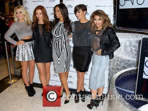 Mollie King, Una Healy, Rochelle Humes, Frankie Sandford and Vanessa White 1