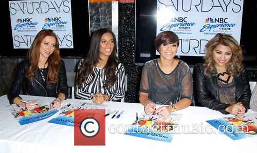 Una Healy, Rochelle Humes, Frankie Sandford and Vanessa White 3