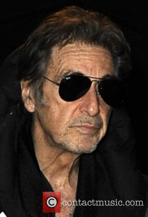 Al Pacino At The Tribeca Grill