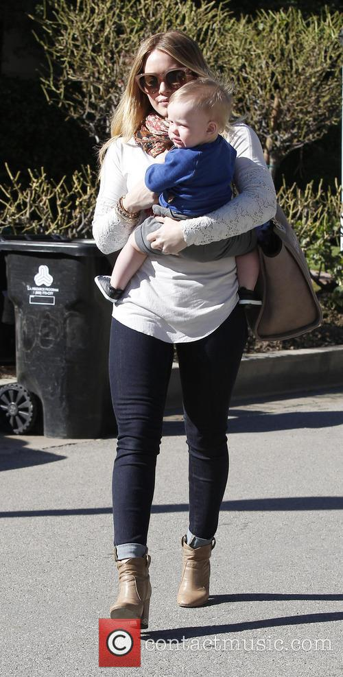 Hillary Duff and Luca Comrie 4