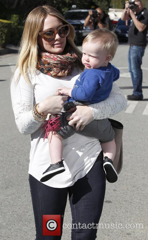 Hillary Duff and Luca Comrie 5