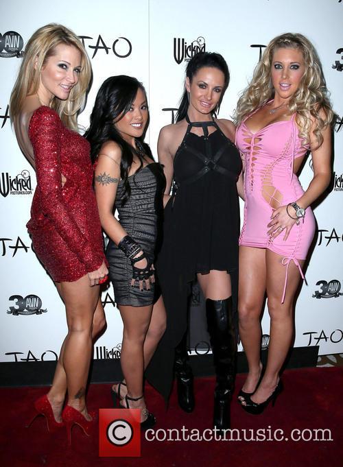Jessica Drake, Kaylani Lei, Alektra Blue and Samantha Saint 4