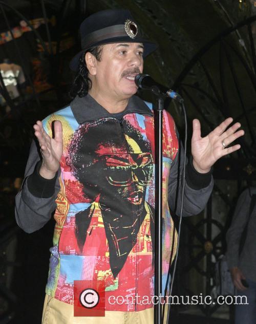 Carlos Santana at the House of Blues