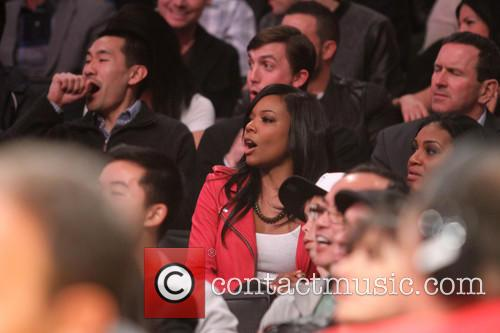 gabrielle union celebrities at the lakers game 3458145
