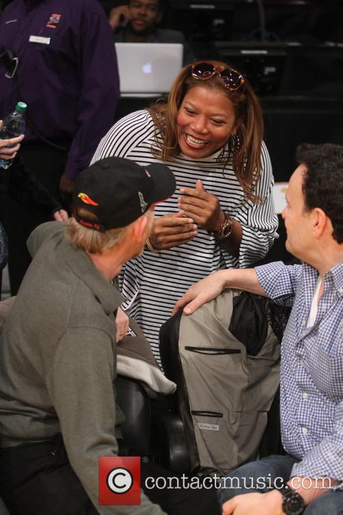 Ron Howard and Queen Latifah 3