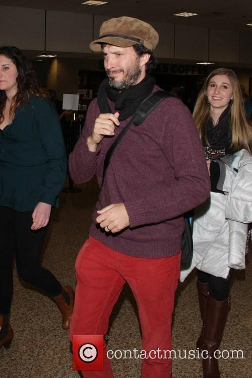 bret mckenzie celebrities arrive at salt lake city 3458216