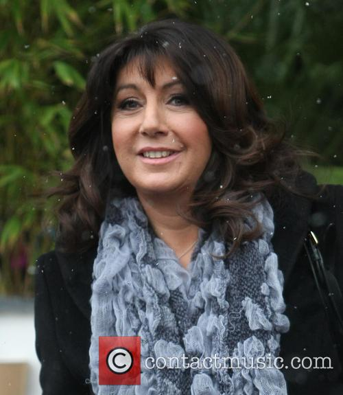 jane mcdonald celebrities outside the itv studios 3458069