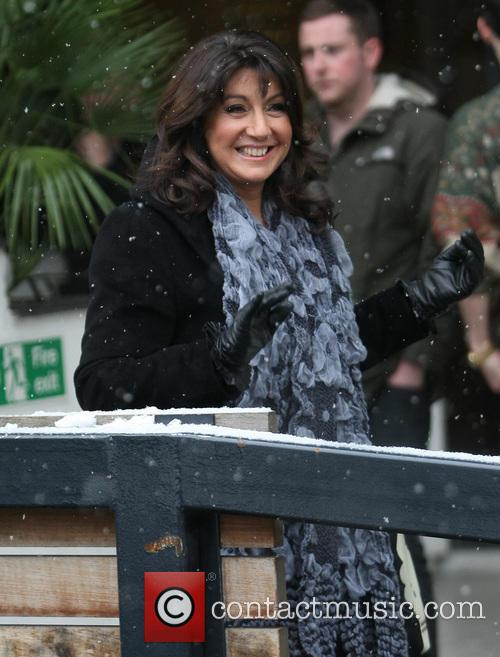 jane mcdonald celebrities outside the itv studios 3458070