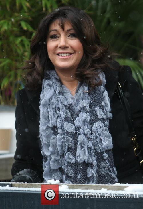 jane mcdonald celebrities outside the itv studios 3458077